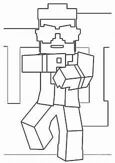 Malvorlagen Minecraft Drucken Minecraft 8 Ausmalbilder Kostenlos