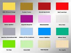 the horror colour mood chart peacockpete s adventures in the modern world