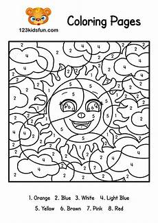 free color by number coloring pages to print 18111 color by number summer coloring pages for printable 123 apps