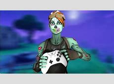 ghoul trooper holding a controler