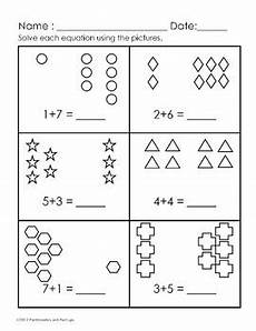 simple addition worksheets with pictures 9602 pre k 1st grade easy addition worksheets 0 11 25 worksheets common