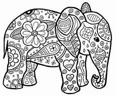 Ausmalbilder Erwachsene Elefant Malvorlagen Erwachsene Elefant