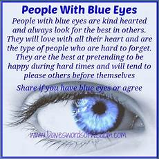 Daveswordsofwisdom Those Blue Eyed In Our Lives