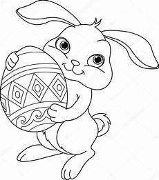 Oster Malvorlagen Xl Easter Bunny Coloring Page Stock Vector 169 Dazdraperma