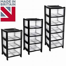 Plastic Drawers On Wheels by Black Drawer Plastic Large Tower Storage Drawers Unit With