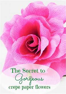 the secret to crepe paper flowers abbi kirsten