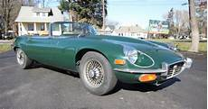 jaguar type e v12 1972 jaguar e type v12 roadster 4 speed for sale on bat