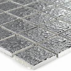 Fliesen Mosaik Küche - keramik mosaik fliesen silber geh 228 mmert 25x25x4mm ebay