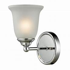 titan lighting sudbury 1 light chrome wall bath bar light tn 50144 the home depot