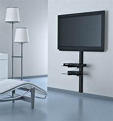 porta tv a muro con mensola home meliconi
