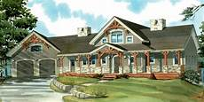 house plans with wrap around porches and walkout basement