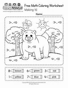 color math worksheets for kindergarten 12923 free math coloring worksheet for kindergarten 10