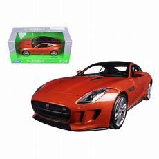 jaguar f type 1 24 2015 jaguar f type orange 1 24 diecast model car by welly