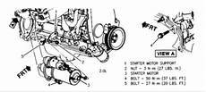 1994 Pontiac Sunbird Starter Engine Mechanical Problem