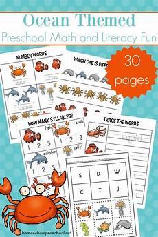 free printable ocean worksheets for preschool early learning preschool printables preschool