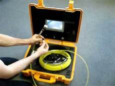 location inspection canalisation wmv