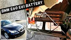 bmw e60 e61 battery replacement without programming 525i