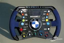 Williams BMW Steering Wheel At United States GP On