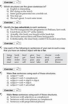 punctuation worksheets year 9 20936 grade 9 grammar lesson 1 sentence structure 2 gramatica atividades