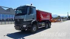 mercedes arocs used mercedes arocs 3351 6x6 other trucks year 2017