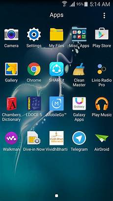 samsung mobile app and install appson a samsung smartphone