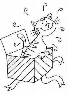 Malvorlagen Katzen Quiz Kostenlose Malvorlage Katzen Katze Im Geschenk Zum Ausmalen