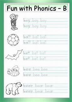 phonics worksheets letter b 24452 with phonics 2 initial b esl worksheet by philipr