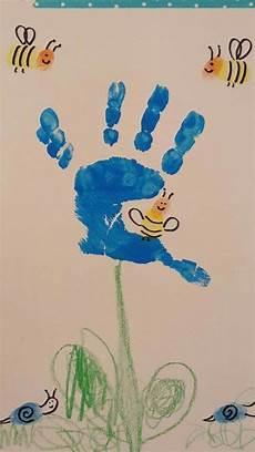 Handabdruck Bilder Frühling - 34 besten fingerfarben bilder auf