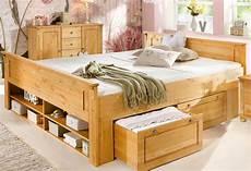 massivholzbett mit stauraum bed tessin shop otto