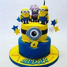 2 tier minion cake celebration cakes cakeology