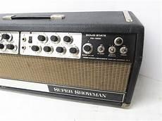 Vintage 1968 Fender Showman Ss 1000 Solid State