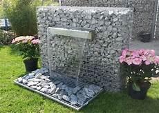 Wasserfall Garten Modern - gabionen mit wasserfall gabionen wasserfall garten