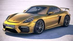 Porsche 718 Cayman GT4 2020 3D Model  CGTrader