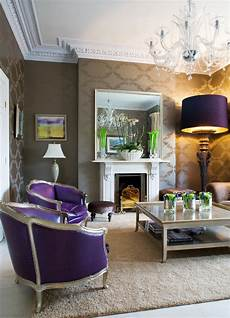 Decorating Ideas For Purple Rooms by 10 Purple Modern Living Room Decorating Ideas Interior