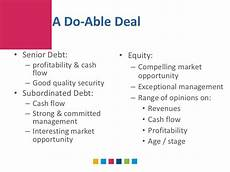 first west capital mezzanine financing and subordinated debt