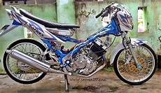 Fu Modif by Modifikasi Satria Fu Ceper Drag Airbrush Jdm Modifikasi