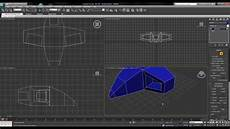 3ds Max Tutorial Simple Spaceship Using Extrude Bevel