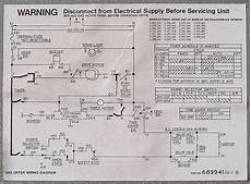 wiring diagram for gas dryer dryer s operating information