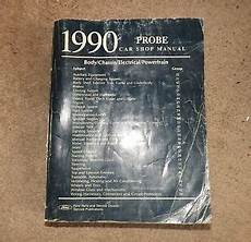 how to download repair manuals 1990 ford probe head up display oem 1990 ford probe car shop manual ebay