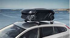 volvo cargo roof box expandable