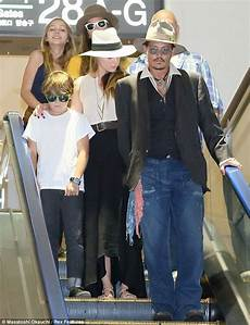 Johnny Depp And Heard Fly Out Of Tokyo With His
