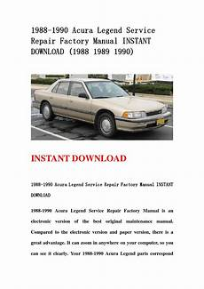 download car manuals 1989 acura legend head up display 1988 1990 acura legend service repair factory manual instant download 1988 1989 1990 by