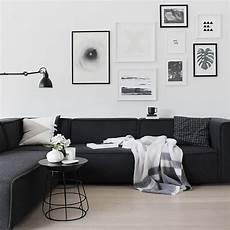 Home Decor Ideas With Black Sofa by The 25 Best Black Decor Ideas On Black