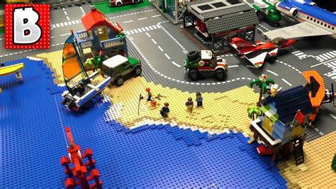 How To Build A Shoreline For A Huge Lego Beach!