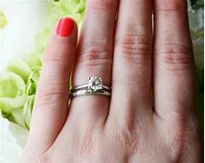 curved wedding band to fit engagement ring 15 ideas of curved wedding bands to fit engagement ring