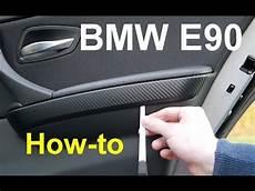 bmw e90 zierleisten abbauen anleitung hd