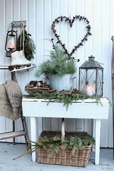 Garten Im Winter Dekorieren - dekoration im winter f 252 r den garten winter balkon deko