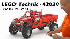 Lego Technic Build by Lego Technic 42029 Customized Up Truck Live Build