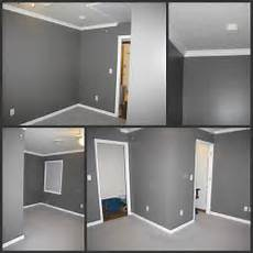 office wall color love this grey gray bedroom walls gray painted walls blue carpet bedroom