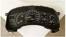 on board diagnostic system 1999 chevrolet tahoe instrument cluster chevy instrument cluster ebay